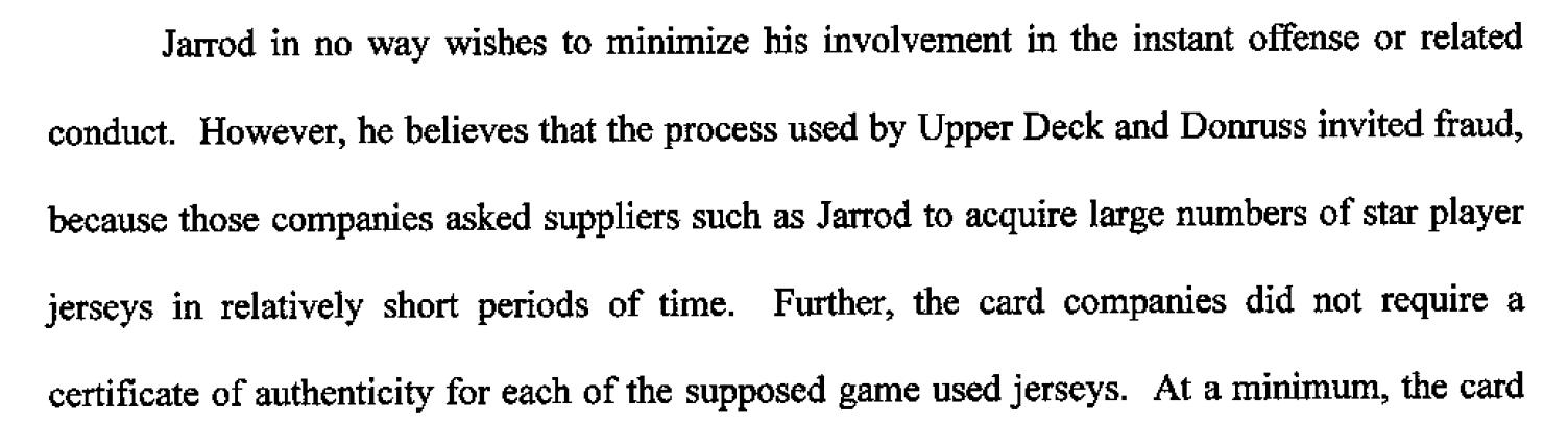 Dealers Await Sentencing, Sold Fake Sports Memorabilia to Card Companies  1