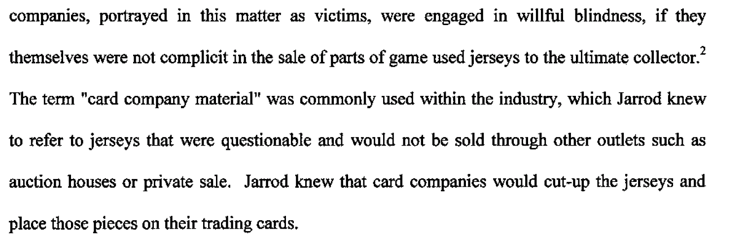 Dealers Await Sentencing, Sold Fake Sports Memorabilia to Card Companies  2