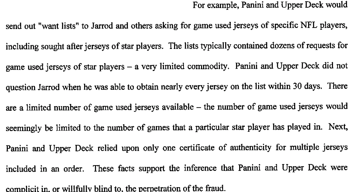 Dealers Await Sentencing, Sold Fake Sports Memorabilia to Card Companies  4