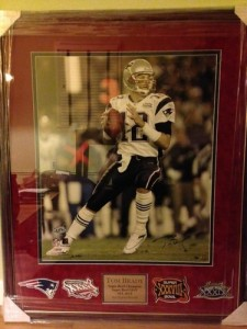 Tom Brady Signed Photo