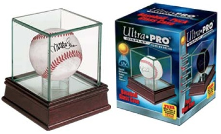 Ultra Pro Baseball Memorabilia Holders Bats Balls Hats More
