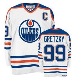 Wayne Gretzky Edmonton Oilers Throwback Jersey