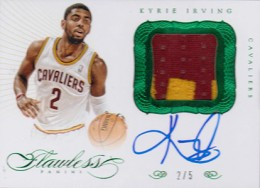 Easy Seeing Green: Top 2012-13 Panini Flawless Basketball Sales 2