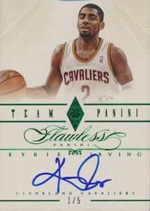 Easy Seeing Green: Top 2012-13 Panini Flawless Basketball Sales 9