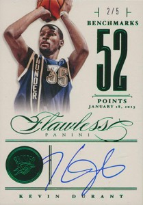 Easy Seeing Green: Top 2012-13 Panini Flawless Basketball Sales 13