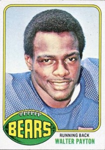 Walter Payton Football Cards, Rookie Card and Autograph Memorabilia Guide 2