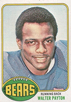Walter Payton Football Cards, Rookie Card and Autograph Memorabilia Guide