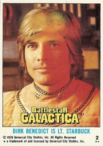 1978 Topps Battlestar Galactica Base Card