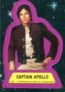 1978 Topps Battlestar Galactica Trading Cards 23