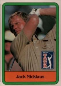 1981 Donruss Golf Jack Nicklaus RC