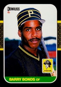 1987 Donruss Barry Bonds