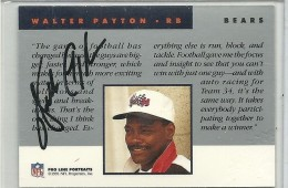 Walter Payton Football Cards, Rookie Card and Autograph Memorabilia Guide 27