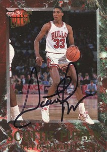 Scottie Pippen Basketball Cards and Autograph Memorabilia Guide 2