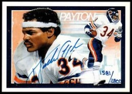 Walter Payton Football Cards, Rookie Card and Autograph Memorabilia Guide 28