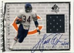 Walter Payton Football Cards, Rookie Card and Autograph Memorabilia Guide 30