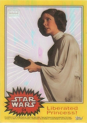 1999 Topps Star Wars Chrome Archives Trading Cards 26