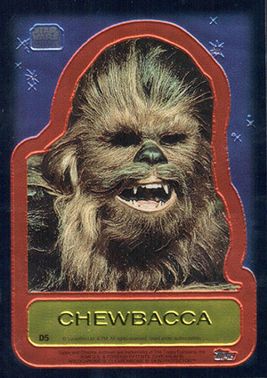 1999 Topps Star Wars Chrome Archives Trading Cards 27