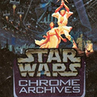 1999 Topps Star Wars Chrome Archives Trading Cards