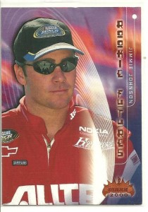Jimmie Johnson Racing Cards and Autograph Memorabilia Guide 1