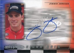 Jimmie Johnson Racing Cards and Autograph Memorabilia Guide 3