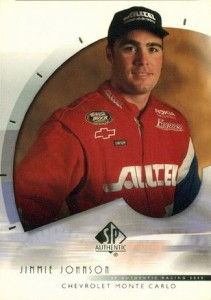 2000 SP Authentic Jimmie Johnson