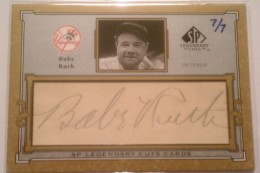 Babe Ruth Baseball Cards and Memorabilia Guide 95