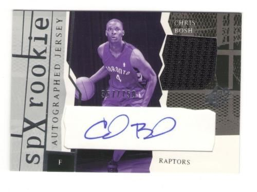 Chris Bosh Cards, Rookie Card Checklist and Autograph Memorabilia Guide 3