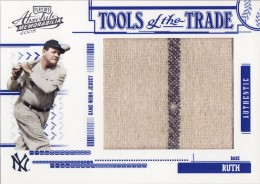 2005 Donruss-Playoff Absolute Memorabilia Babe Ruth Jumbo Jersey