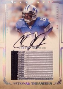 Calvin Johnson Football Cards: Rookie Cards Checklist and Buying Guide 2