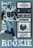 Dez Bryant Rookie Cards and Autograph Memorabilia Guide