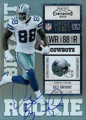 Dez Bryant Rookie Cards and Autograph Memorabilia Guide 23