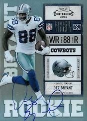 Dez Bryant Rookie Cards and Autograph Memorabilia Guide 26