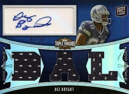 Dez Bryant Rookie Cards and Autograph Memorabilia Guide 2