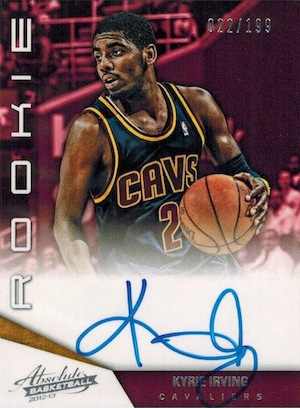 Kyrie Irving Rookie Cards Checklist and Guide 2