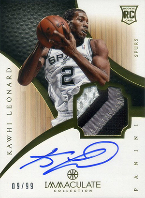 Top Kawhi Leonard Rookie Cards to Collect 12