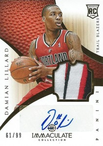 Damian Lillard Rookie Cards Checklist and Guide 9