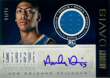 Anthony Davis Rookie Cards Checklist and Gallery 13