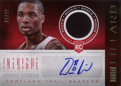 Damian Lillard Rookie Cards Checklist and Guide 13