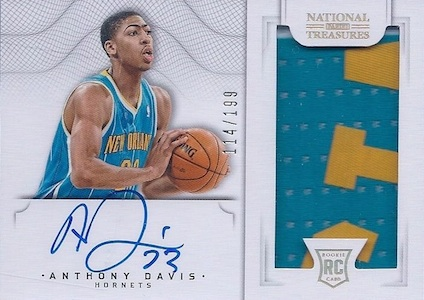 Anthony Davis Rookie Cards Checklist and Gallery 21