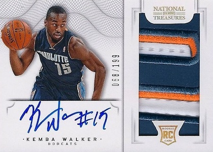 Top 5 Kemba Walker Rookie Cards 3