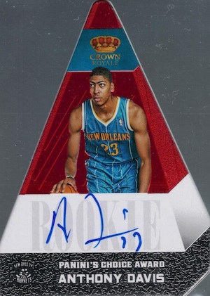 Anthony Davis Rookie Cards Checklist and Gallery 26