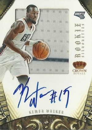 Top 5 Kemba Walker Rookie Cards 4