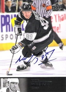 2012-13 Ultimate Collection Hockey 1997 Legends Autographs Wayne Gretzky
