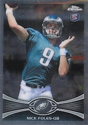 Nick Foles Rookie Cards and Autograph Memorabilia Guide 2