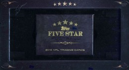 2012 Topps Five Star Football Box 260x142 Image
