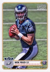 Nick Foles Rookie Cards and Autograph Memorabilia Guide 1