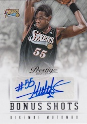 2013-14 Panini Prestige Basketball Cards 47