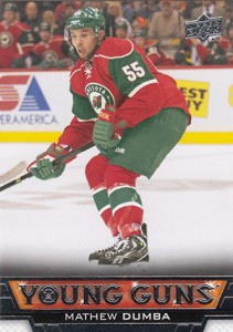 See All 100 of the 2013-14 Upper Deck Hockey Young Guns 16