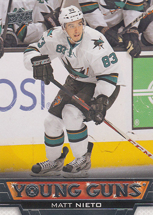 See All 100 of the 2013-14 Upper Deck Hockey Young Guns 24