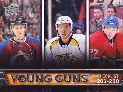 See All 100 of the 2013-14 Upper Deck Hockey Young Guns 50